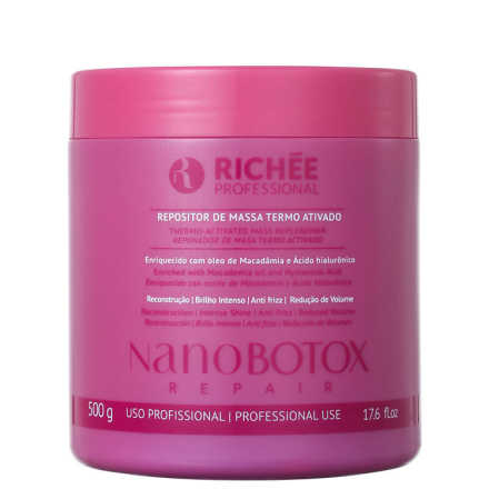 Richée Professional Nanobotox Repair - Repositor de Massa 500g