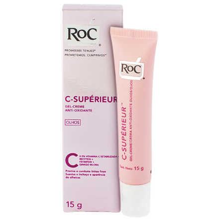 Roc C-Supérieur Gel-Creme Antioxidante - Creme para Área dos Olhos 15g