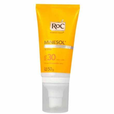RoC Minesol Antioxidante Fps 30 - Protetor Solar 50g