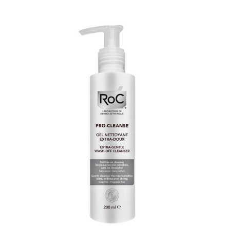 Roc Pro-Cleanse Gel Nettoyant Extra-Doux - Gel de Limpeza Facial 200ml