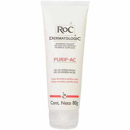 RoC Purif-Ac Cleanser Purifying - Gel 80g