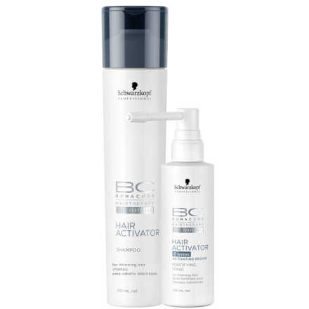 Schwarzkopf Professional BC Bonacure Hair Activator Fortifying Kit (2 Produtos)