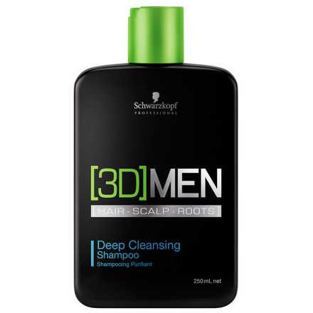 Schwarzkopf Professional 3D Men Deep Cleansing - Shampoo 250ml