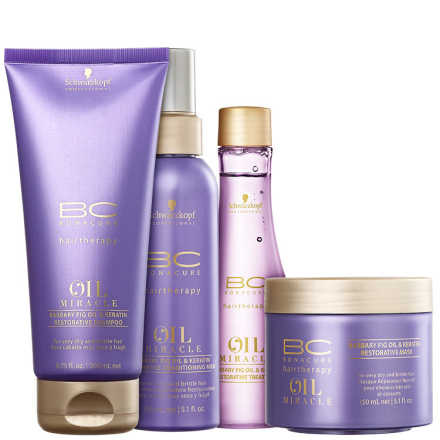 Schwarzkopf Professional BC Bonacure Oil Miracle Barbary Fig - Kit de Tratamento (4 Produtos)