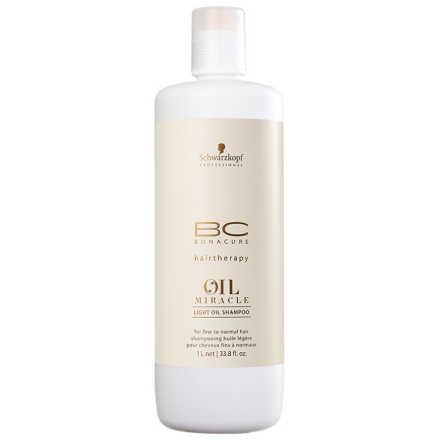 Schwarzkopf Professional BC Bonacure Oil Miracle Light - Shampoo 1000ml