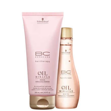 Schwarzkopf Professional BC Bonacure Oil Miracle Rose - Duo Kit (2 Produtos)