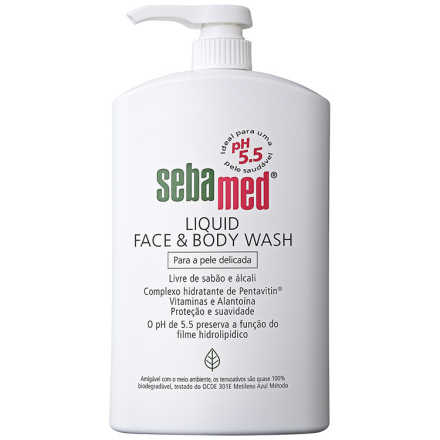 Sebamed Liquid Face & Body Wash - Sabonete Líquido 1000ml