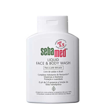 Sebamed Liquid Face & Body Wash - Sabonete Líquido 200ml