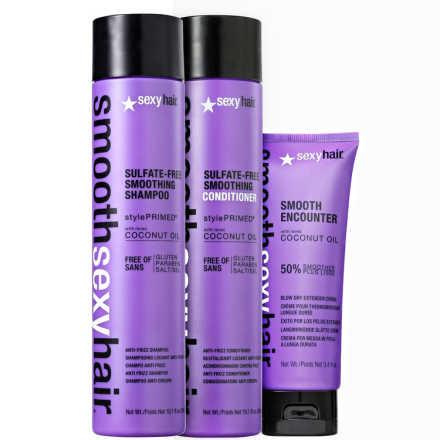 Sexy Hair Smooth Proteção Liso Perfeito Kit (3 Produtos)