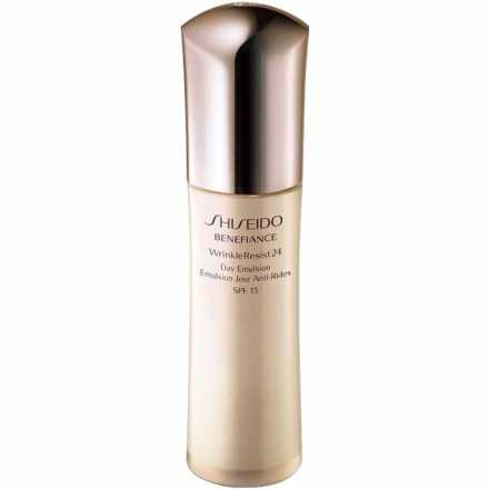Shiseido Benefiance Wrinkle Resist 24 Day Emulsion Spf 15 - Emulsão Antienvelhecimento 75ml