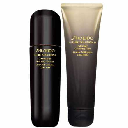 Shiseido Future Solution LX Clean Care Kit (2 Produtos)