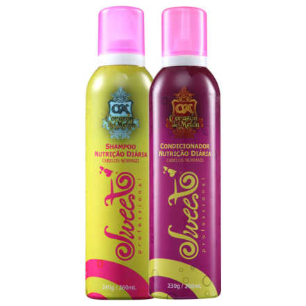 Sweet Hair Corazón de Melón Nutrição Diária Duo Kit (2 Produtos)