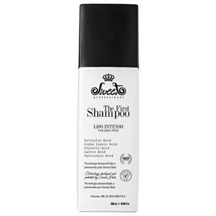Sweet Hair The First Shampoo Liso Intenso - Shampoo Alisante 500ml