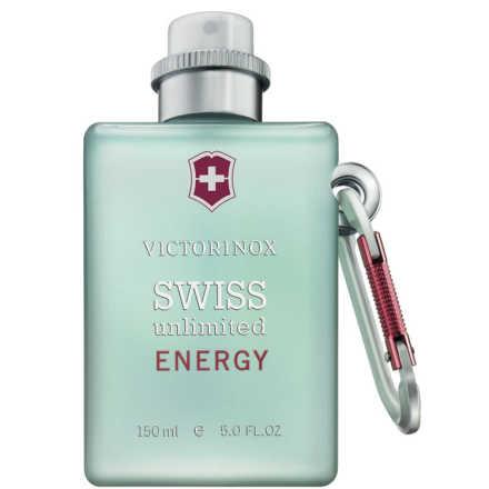 Swiss Unlimited Energy Victorinox Eau de Cologne - Perfume Masculino 150ml