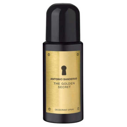Antonio Banderas The Golden Secret - Desodorante Masculino 150ml