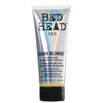TIGI Bed Head Dumb Blonde Reconstructor for Chemically Treated Hair - Condicionador Reconstrutor 200ml
