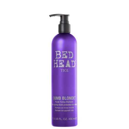 TIGI Bed Head Dumb Blonde Purple Toning - Shampoo 400ml