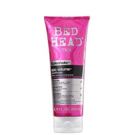 TIGI Bed Head Styleshots Epic Volume Conditioner - Condicionador 200ml