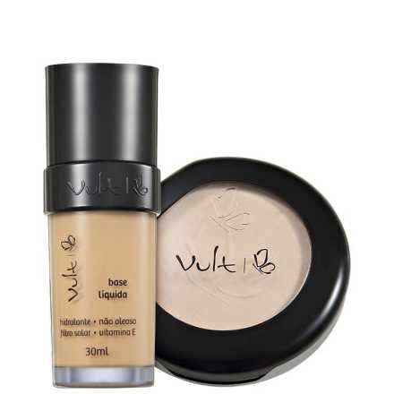 Vult Make Up 03 Bege Translúcido Duo Kit (2 Produtos)