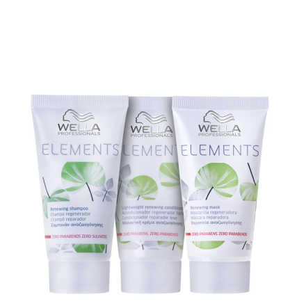 Wella Professionals Elements Renewing Trio Mini Kit (3 Produtos)