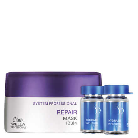 SP System Professional Repair Hydrate Kit (3 Produtos)