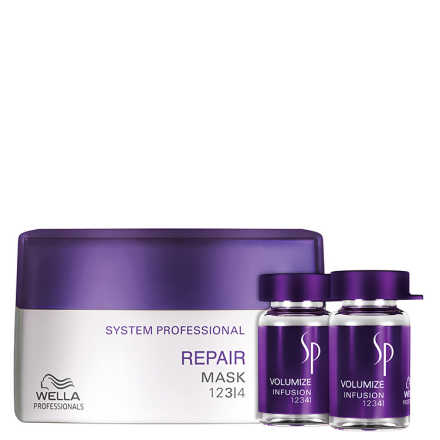 SP System Professional Repair Volumize Kit (3 Produtos)
