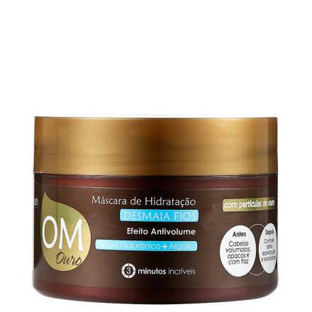 Yenzah OM Ouro Hidratação Desmaia Fios - Máscara 300g