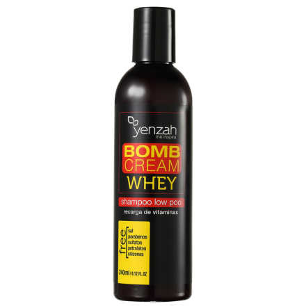 Yenzah Whey Bomb Cream - Shampoo 240ml