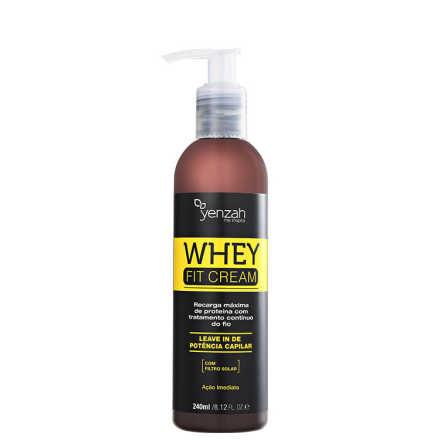 Yenzah Power Whey Fit Cream Potência Capilar - Leave-In  240g