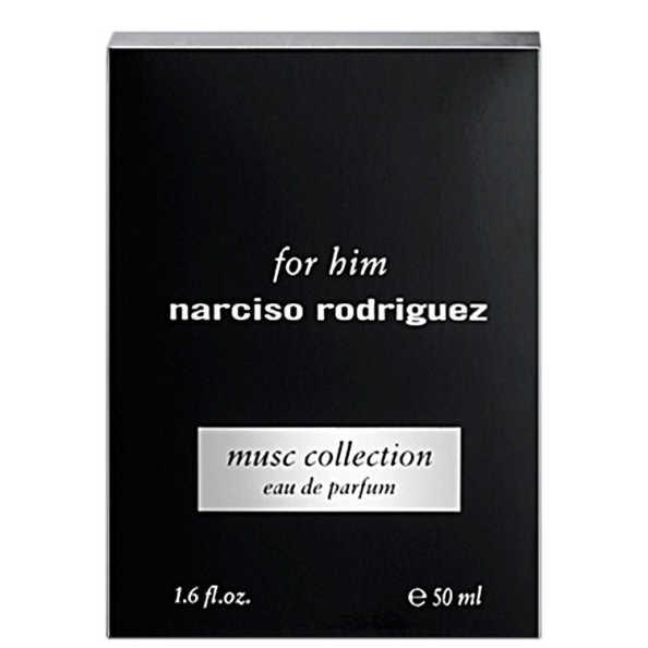 Narciso Rodriguez Perfume Masculino for Him Musc Collection - Eau de Parfum 50ml
