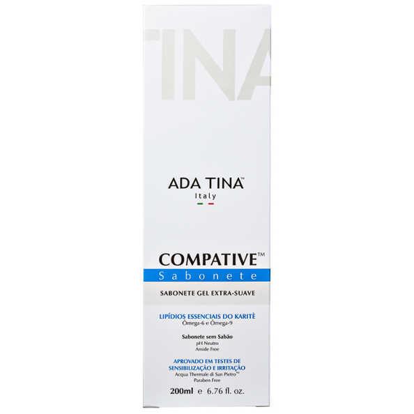 Ada Tina Compative Thermal Soap - Sabonete Líquido Facial 200ml