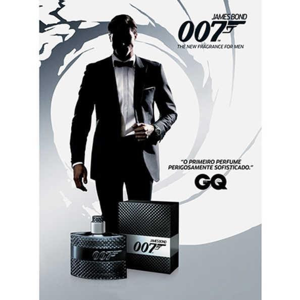 James Bond 007 for Men Perfume Masculino - Eau de Toilette 30ml