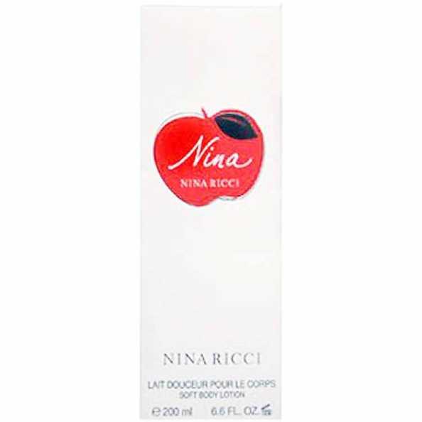 Nina Ricci Nina Soft Body Lotion Feminino - Hidratante Corporal 200ml