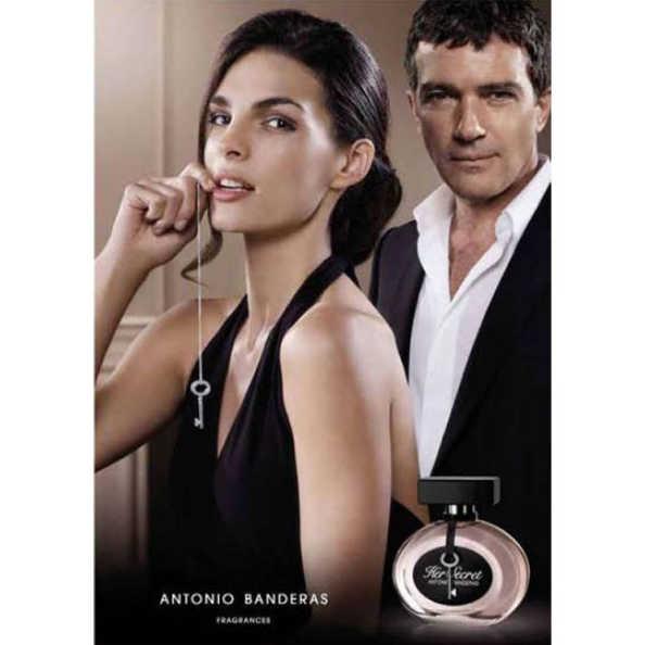 Antonio Banderas Perfume Feminino Her Secret - Eau de Toilette 30ml
