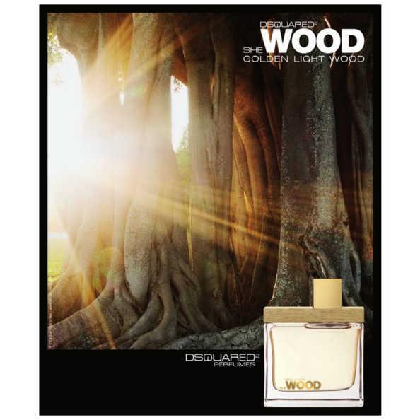 Dsquared Perfume Feminino She Wood Golden Light Wood - Eau de Parfum 30ml