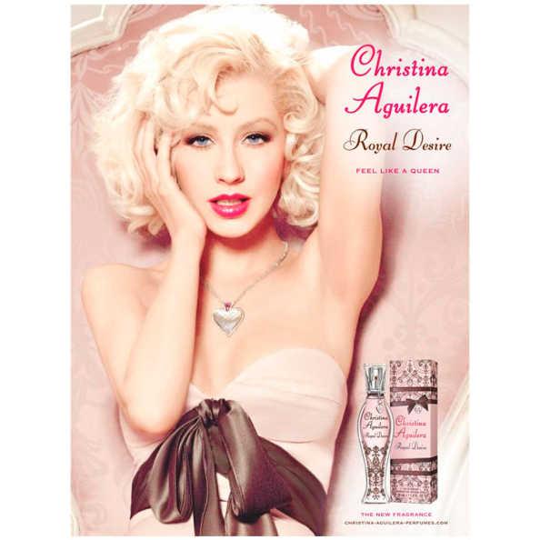 Christina Aguilera Perfume Feminino Royal Desire - Eau de Parfum 50ml