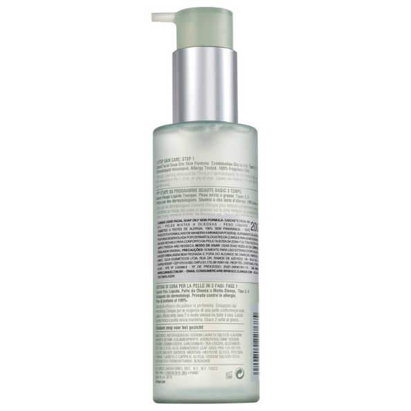 Clinique Liquid Facial Soap Oily Skin Formula - Sabonete Líquido 200ml
