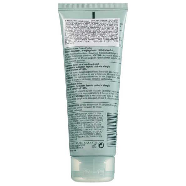 Clinique 7 Day Scrub Cream Rinse Off Formula - Esfoliante 100ml