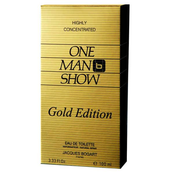 Jacques Bogart Perfume Masculino One Man Show Gold Edition - Eau de Toilette 100ml
