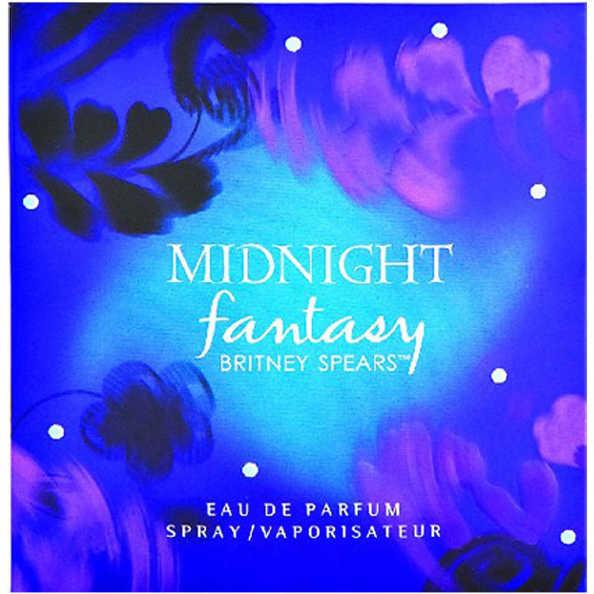 Britney Spears Midnight Fantasy Feminino - Eau de Parfum 100ml