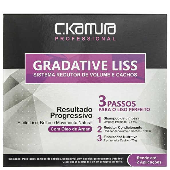 C.Kamura Gradative Liss Kit (3 Produtos)