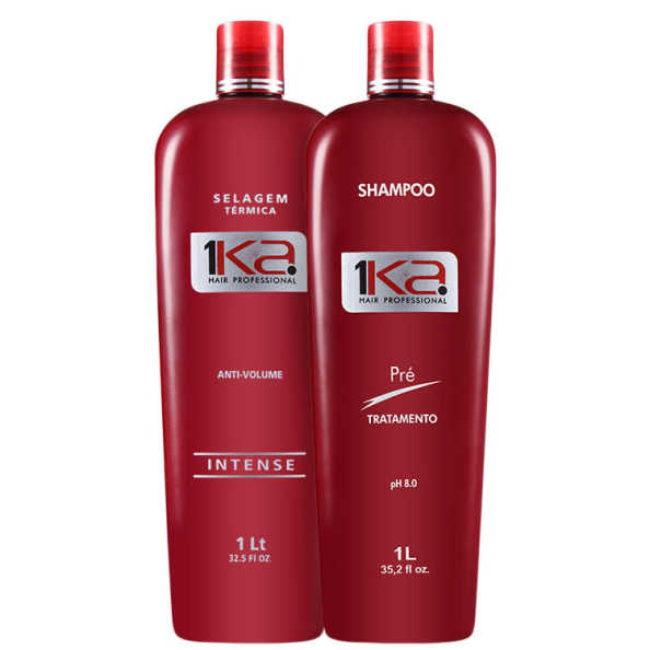 1Ka Hair Anti-Volume Kit (2 Produtos)