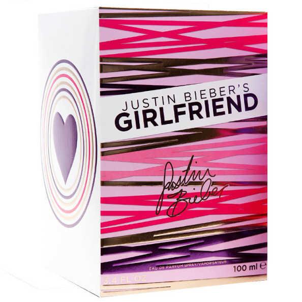 Justin Bieber Girlfriend Perfume Feminino - Eau de Parfum 30ml