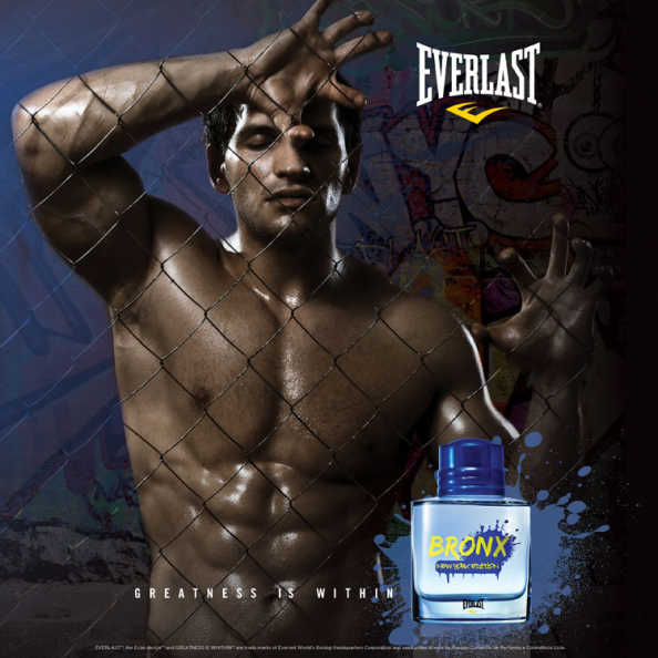 Everlast Perfume Masculino Bronx New York Edition - Deo Cologne 100ml