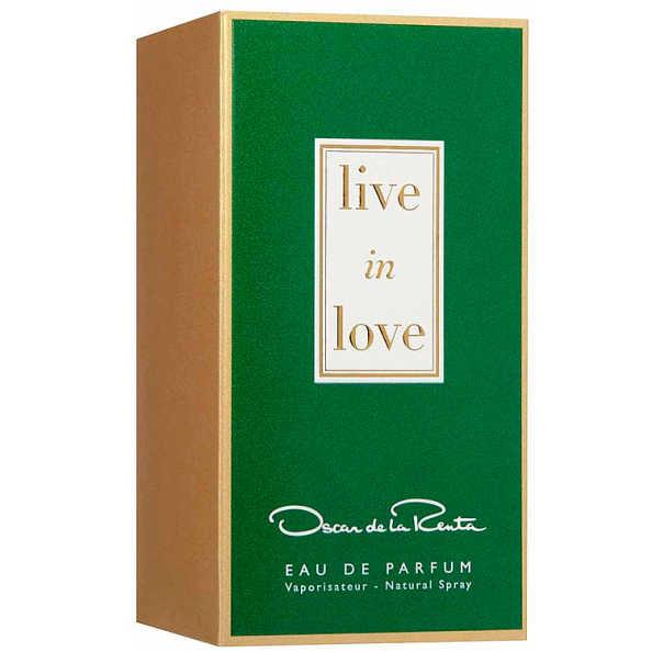 Oscar de La Renta Perfume Feminino Live In Love - Eau de Parfum 50ml