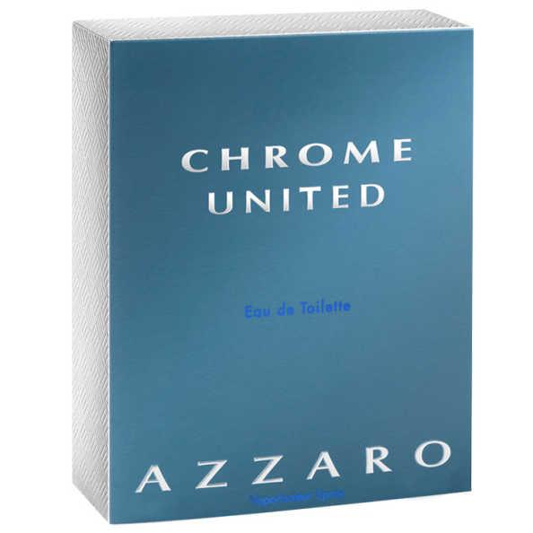 Azzaro Chrome United Perfume Masculino - Eau de Toilette 30ml