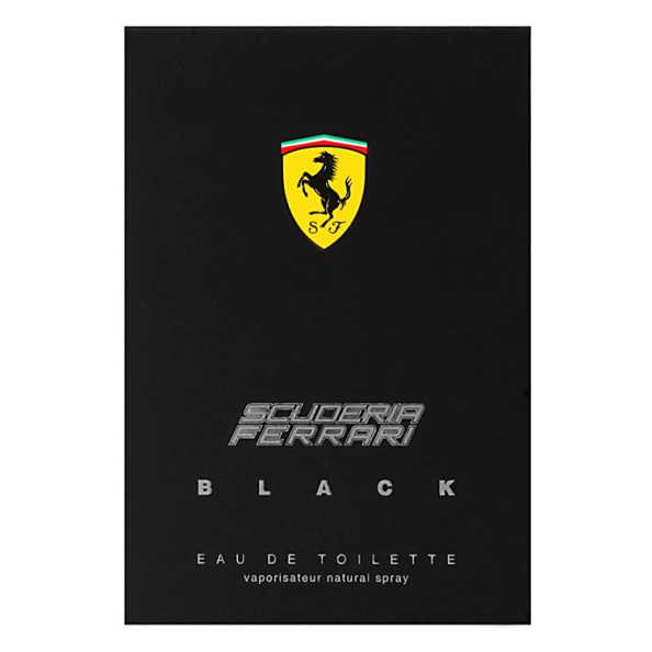 Ferrari Perfume Masculino Scuderia Black - Eau de Toilette 75ml