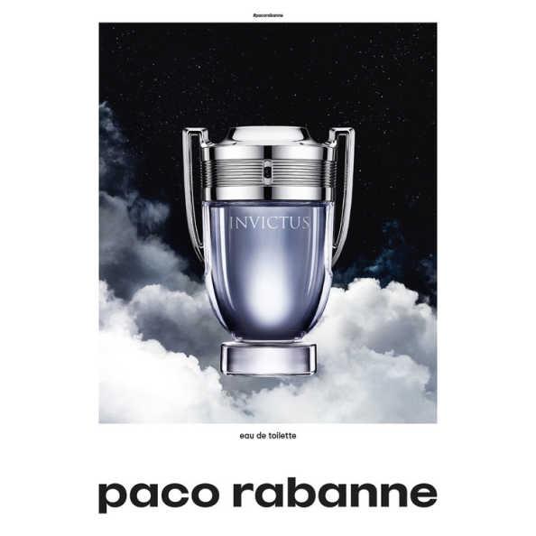 Paco Rabanne Invictus Perfume Masculino - Eau de Toilette 100ml