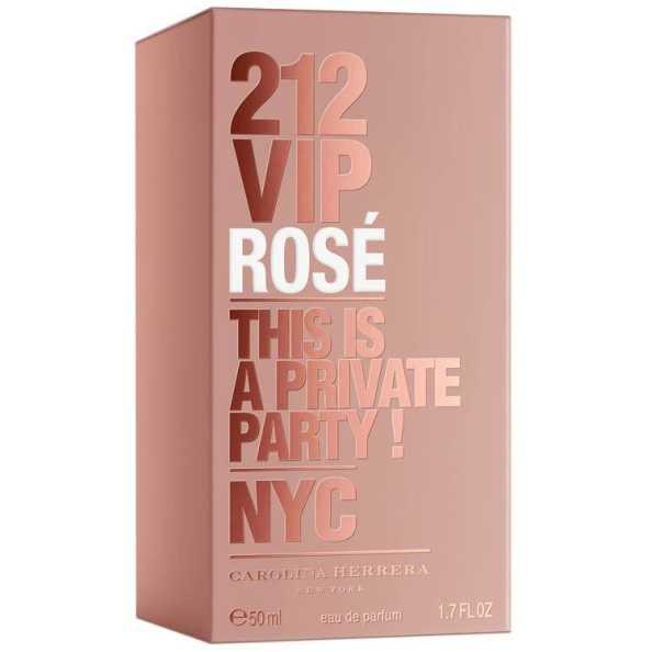Carolina Herrera 212 VIP Rosé Perfume Feminino - Eau de Parfum 50ml