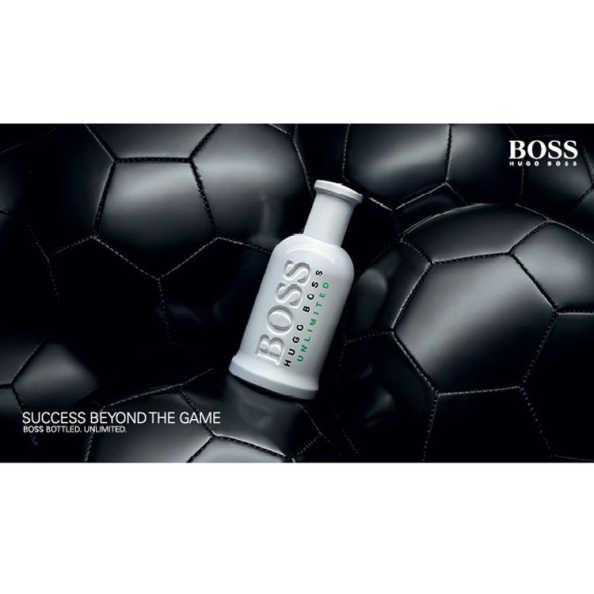 Hugo Boss Unlimited Perfume Masculino - Eau de Toilette 100ml
